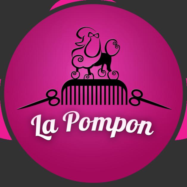 La Pompon - Psi Fryzjer - Logo